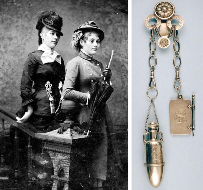 Châtelaine Шатлен- романтичната чанта на XIX век 1