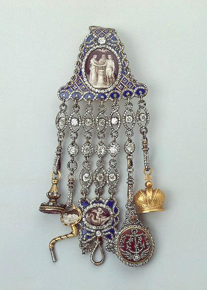 Châtelaine Шатлен- романтичната чанта на XIX век 37