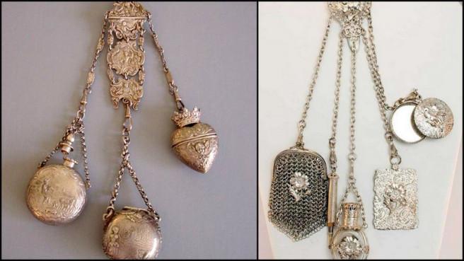 Châtelaine Шатлен- романтичната чанта на XIX век 7