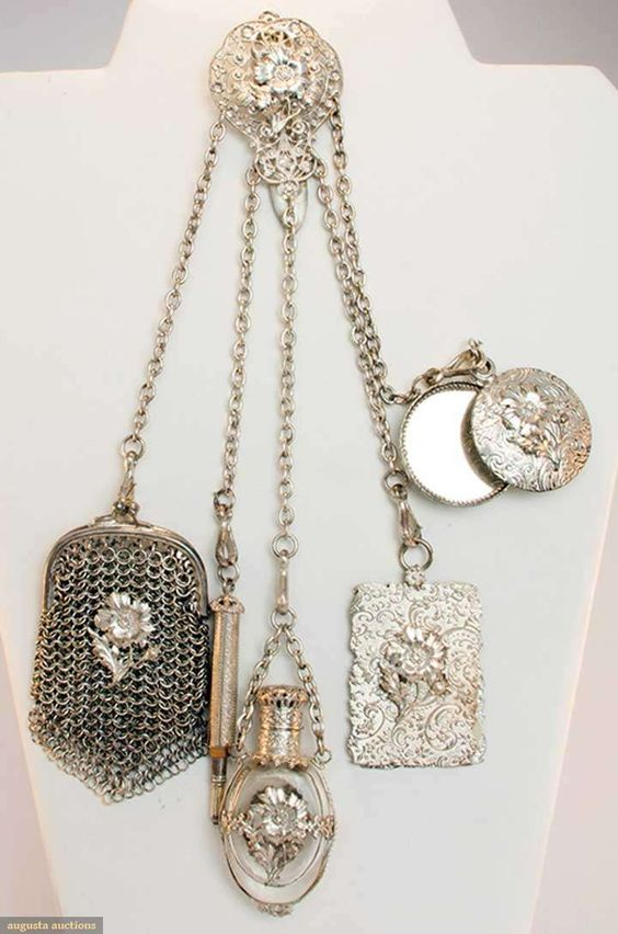 Châtelaine Шатлен- романтичната чанта на XIX век