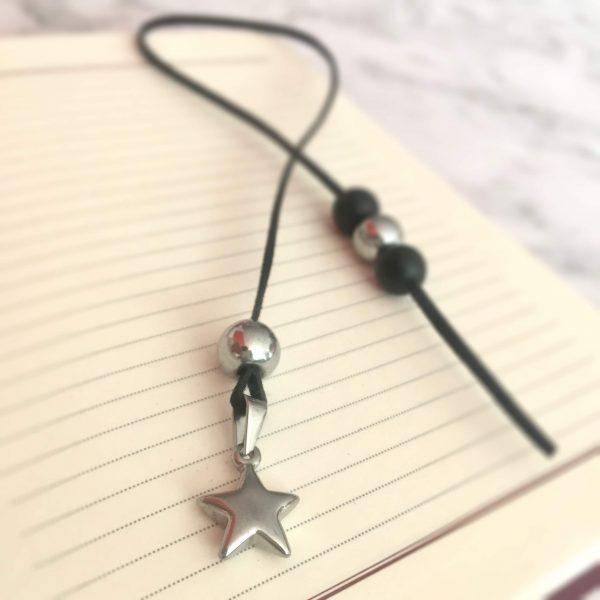 Разделител за книга - Сребърна звезда 1 - ivspiration.com